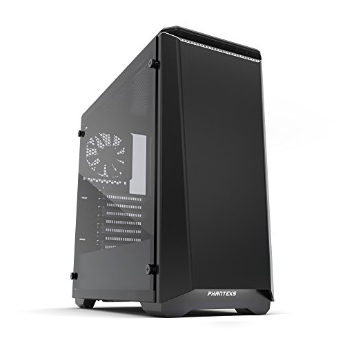 Phanteks PH-EC416PSTG_BW Eclipse P400S Silent Edition with Tempered Glass, Black/White Cases