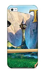 Top Quality Case Cover For Iphone 5c Case With Nice Tangled Movie Appearance