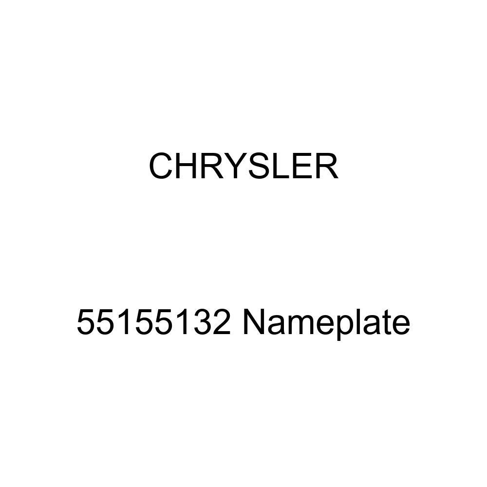 Chrysler Genuine 55155132 Nameplate