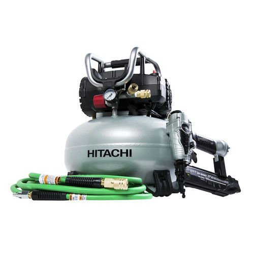 Hitachi KNT50AB Hitachi KNT50AB 2 Pcs Finish Combo Kit (Certified Refurbished)