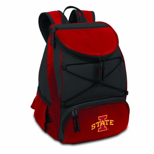 PICNIC TIME NCAA Iowa State Cyclones PTX Insulated Backpack Cooler, Red