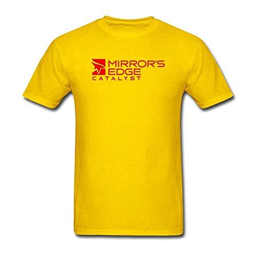 ONEPICE Men's Mirror's Edge Catalyst Short Sleeve T - Mirror Pics Male