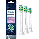 Philips Sonicare Intercare replacement toothbrush heads, HX9003/65, BrushSync technology, White 3-pk