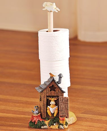Nature Calls Bathroom Collection Toilet Paper Holder Home