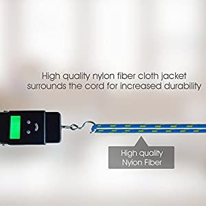 Costyle 5pcs/lot Colorful Ruggedized Braided Fabric/Sleeved 3Ft Feet 1M Meters Micro USB 2.0 Data Sync Charging Cable Cord For Smartphones