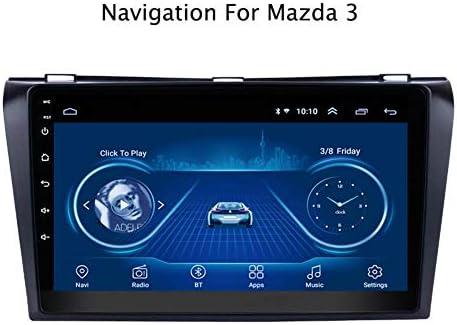 マツダ3用GPSナビゲーションavi簡単なインストールサポートレシーバービデオプレーヤーFM /ラジオWIFI/Bluetooth/TF/USB/AUX/ステアリングホイールコントロ