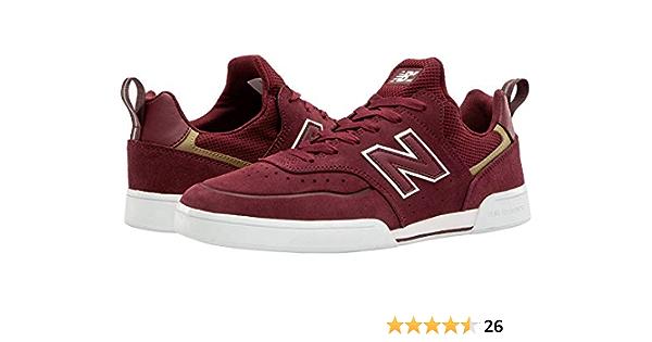 Amazon.com | New Balance Numeric 288 Sport Burgundy/White Men's 7 ...