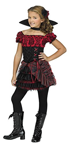 [La Vampira Child Costume 12-14] (Hair For A Vampire Costume)