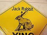 Jack Rabbit Aluminum Novelty Sign Jack Rabbit Xing