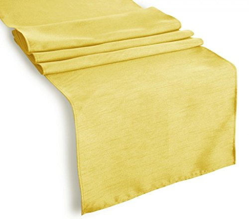 Table runner polyester 14 x 120 inch by broward linens for 120 inches table runner