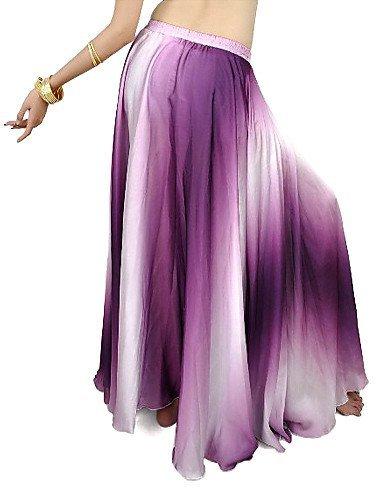 huaxing-vêtements en poliéster Belly Dance - Falda para damas (más ...