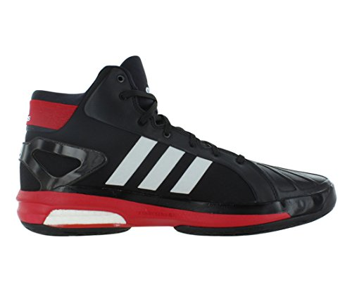 Adidas Futurestar Öka Basket Mens Skor Storlek Svart / Vit / Scarlet