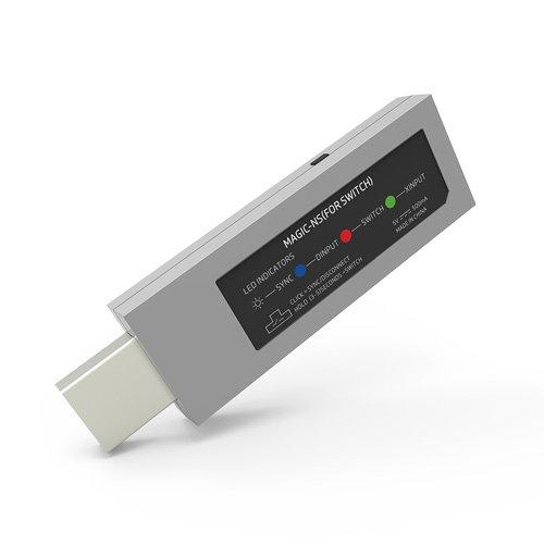 3 opinioni per MAGIC-NS Wireless Controller Adapter per NINTENDO SWITCH & PC