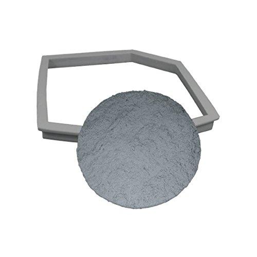 Concrete Stepping Stone Molds | Stepstone Maker - Basic Kit | DIY Pathmate Kit | Concrete Stamp Stone Texture (Sandstone)
