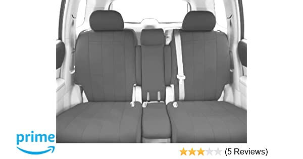 CalTrend Middle Row 40/20/40 Split Bench Custom Fit Seat Cover for Select  Toyota Sienna Models - NeoSupreme (Light Grey)