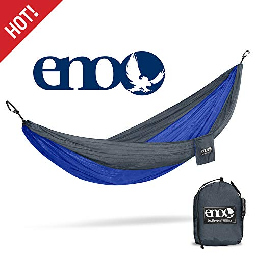 ENO - Eagles Nest Outfitters DoubleNest Lightweight Camping Hammock, 1 to 2 Person, National Park Foundation Special Edition