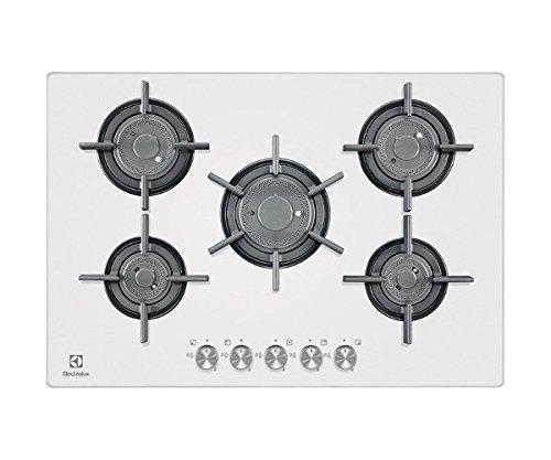 Electrolux - Piano cottura a gas PVF 750 UOB finitura cristallo ...