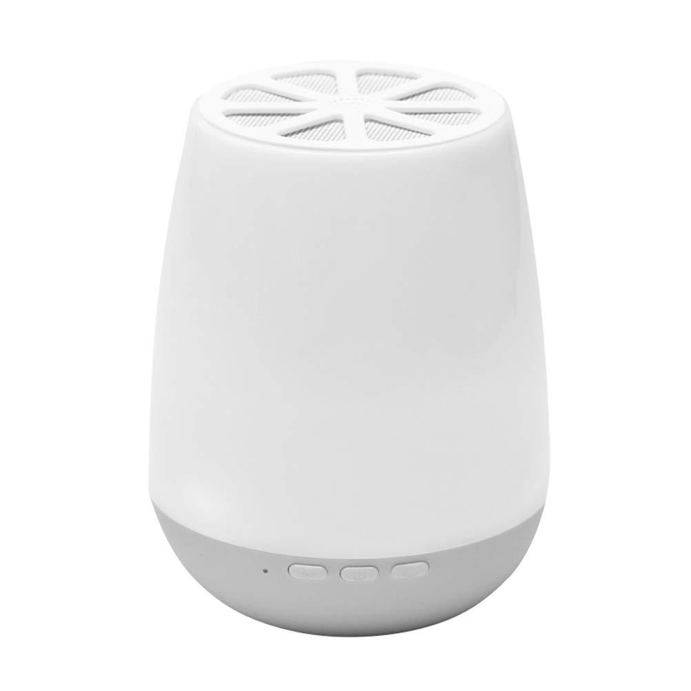 Smart APP Bluetooth Speaker Colorful Light LED Night Light Outdoor Wireless Audio Creative Home Table Lamp