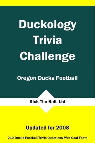 Oregon Ducks Santa - Duckology Trivia Challenge: Oregon Ducks Football