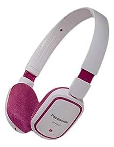 Panasonic RP-HX40 Rosa, Color blanco Circumaural Diadema auricular - Auriculares (Circumaural, Diadema, 10 - 25000 Hz, 116 dB, 32 Ω, 3 cm)