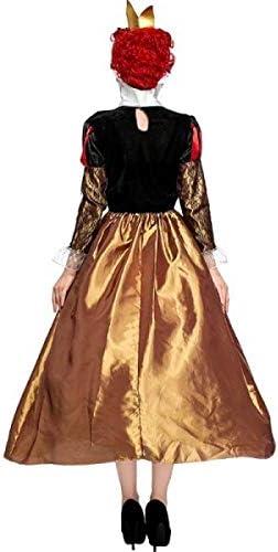 Disfraz de reina de corazones de estilo clásico: Amazon.es: Hogar