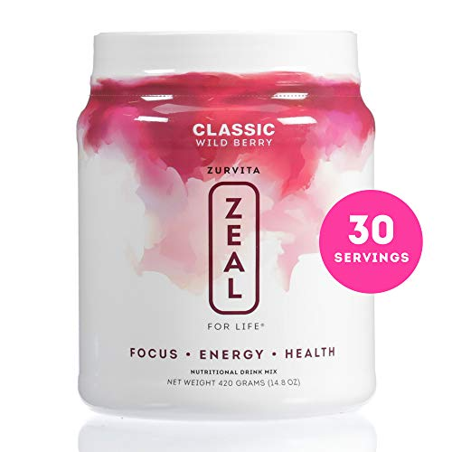 Zurvita- Zeal for Life- 30-Day Wellness Canister- Wild Berry (Classic)- 420 grams by Zurvita (Image #8)