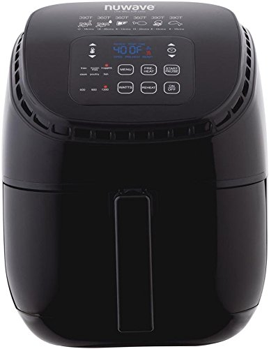 NuWave Brio Black 3 Quart Digital Air Fryer
