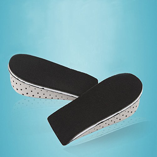 Men Women 1 Pair Memory Foam Height Increase Insole Heel Lift Insert Cushion Shoe Taller Pad (Height Increase 4 cm) by Hujukuludusu (Image #8)