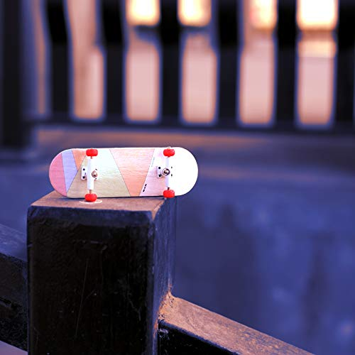 NOAHWOOD Wooden PRO Fingerboards (Deck,Truck,Wheel / a Set) (Born for PRO) by NOAHWOOD (Image #4)