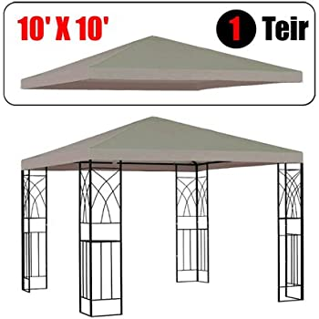 Amazon Com Gothobby 10 X 10 Gazebo Replacement Canopy