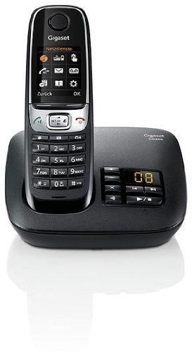 Gigaset C620A Dect-Schnurlostelefon mit Anrufbeantworter, Babyphonefunktion, schwarz