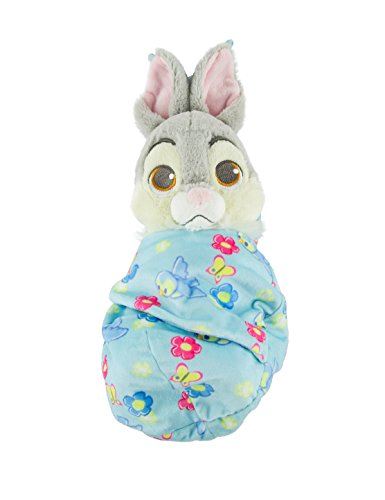 (Disney Baby Thumper Bunny Rabbit from Bambi in a Pouch Blanket Plush)