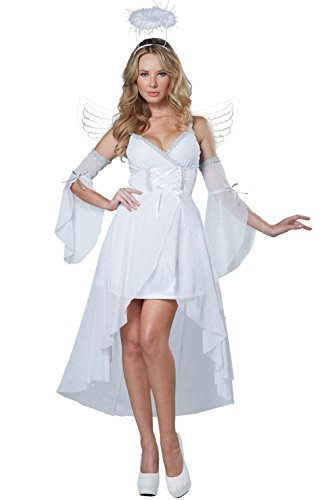 Holy Heaven's Angel Christmas Adult (Adult Heavens Angel Costumes)