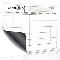 Magnetic Dry Erase Refrigerator Calendar...
