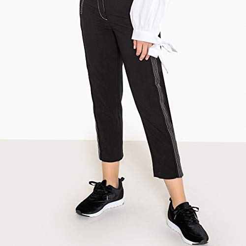 Redoute Donna Collections Nero In A Twill Pinocchietto Pantaloni La Slim dgxwpdO5