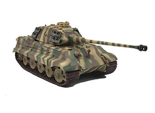 - Model Toy, World War Ii Arms Germany Tiger King Heavy Tank Finished Model, Retro Military Decorative Souvenirs