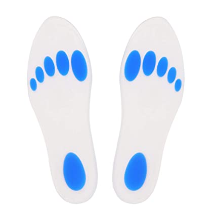 3e912b7ae1 Amhuui 1 Pair Insoles Silicone Gel Arch Support,Insoles Orthotic Insoles  Relieve Foot Pain,