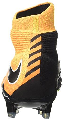 NIKE Herren Hypervenom Phantom III DF FG Fußballschuh (Laser Orange, Schwarz)