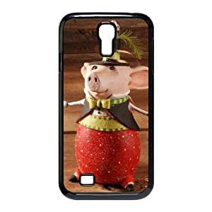 Custom Cover Case with Hard Shell Protection for SamSung Galaxy S4 I9500 case with Cartoon Bear lxa#977405