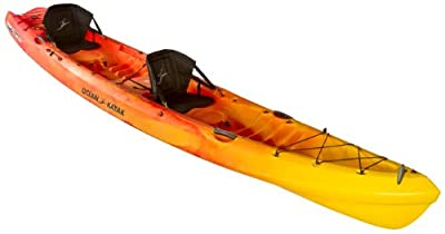 07.6460.1030-Parent Ocean Kayak 16ftx4.5in Zest Two Expedition Tandem Sit-On-Top Touring Kayak