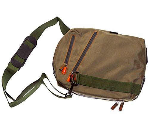 "Ultimateaddons Green Sling Travel Bag for Samsung Galaxy Tab A 10.1"""