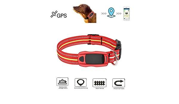 MUXAN - Rastreador GPS para Mascotas, rastreador GPS antipérdidas ...