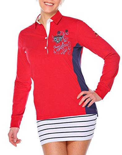 M.Conte women Sweat-Shirt Sudaderas suéter Manga largos para mujer Munia Rojo