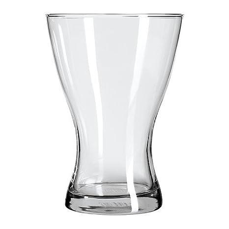 Ikea Vasen Vaso In Vetro Trasparente 20 Cm Amazon It Casa E Cucina