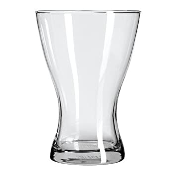 Ikea Vasen Vase Clear Glass 20 Cm Amazon Co Uk Kitchen Home