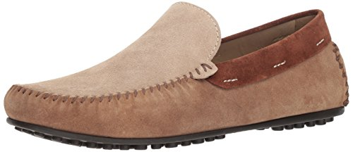 Donald J Pliner Men's Santos-MA Driving Style Loafer, Sand, 10.5 D US
