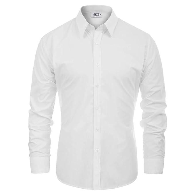 Amazon.com: Percy Perry - Camisa para hombre con cuello de ...