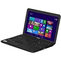 Toshiba Satellite C855D-S5340 15.6 Laptop Computer, AMD Dual-Core Processor E1-1200, 4GB DDR3L RAM, 320GB HDD, DVD, WiFi, Windows 8, Satin Black Trax (Certified Refurbihsd)