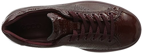 Ecco Sneakers 4 Soft Rouge Basses Bordeaux Femme r1v8rTqxEw