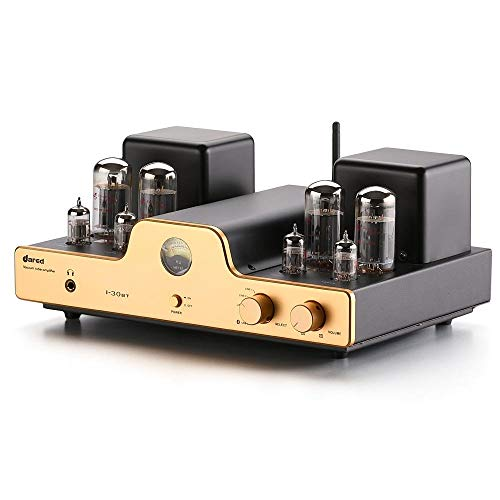 Dared Stereo Receiver Rated The Best Tube Amplifier Bluetooth Stereo That an Audiophile Would Covet. I-30BT